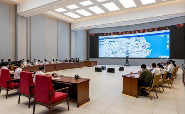 國家防辦、應急管理部會商調度重點省份防汛抗洪工作